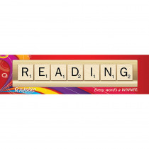 EU-849028 - Scrabble Reading Classroom Banner in Banners
