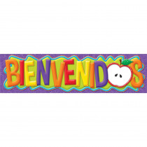 EU-849273 - Color My World Spanish Welcome Horizontal Banners in Banners