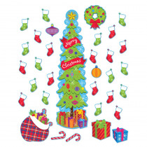 EU-849300 - Christmas Allinone Door Decor Kits in Holiday/seasonal