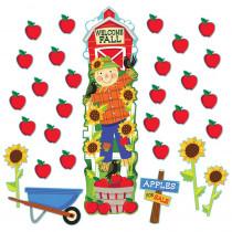 EU-849308 - Fall Harvest Allinone Door Decor Kits in Holiday/seasonal