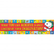 EU-849467 - Peanuts Achieve Horizontal Banner in Banners