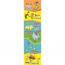 EU-849573 - Seuss-Cat In The Hat Class Rules Banner Vertical in Banners