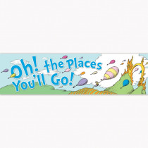 EU-849581 - Dr Seuss Oh The Places Balloons Classroom Banner in Banners