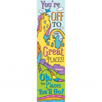 EU-849903 - Dr Seuss Oh The Places Vertical Banner in Banners