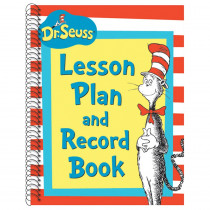 EU-866220 - Cat In The Hat Lesson Plan And Record Book in Plan & Record Books