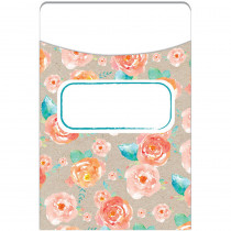 EU-866402 - Confetti Splash Library Pockets Floral Toss in Library Cards