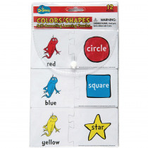 EU-867412 - Dr Seuss Colors / Shapes Self Correcting Puzzle Manipulatives in Manipulatives