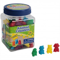 EU-867470 - Animal Counters Tubbed in Counting