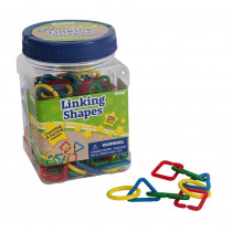 Tub of Linking Shapes Manipulatives - EU-867480 | Eureka | Patterning