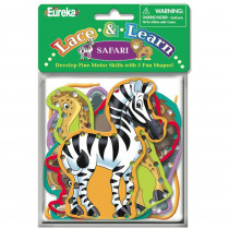 EU-867510 - Lace And Learn - Safari Animals in Lacing