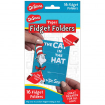 EU-872006 - Fidget Folders The Cat In The Hat in Folders