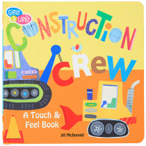 EU-BBB718429 - Construction Textured Board Book in Language Arts