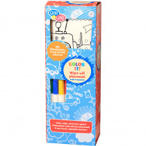 EU-BIM218426 - Color It Robot Fair Placemat Wipe Off With Markers in Art & Craft Kits