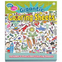EU-BTC14518 - Coloring Begin Giant Coloring Sheet in Art Activity Books