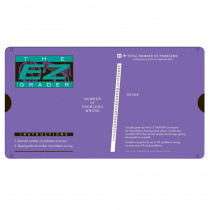 EZ-5703PURPLE - E-Z Grader Purple Score Up To 95 Questions in Graders