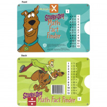 EZ-9000 - Math Fact Finder Multiplication Division Scooby Doo Slide Chart in Multiplication & Division