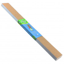 FLP10060 - Cork Message Bars 2In X 20In 3/Set in Cork Boards