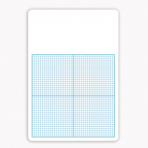 FLP11161 - Single 1/4In Graph Dry Erase Board 11 X 16 in Dry Erase Boards
