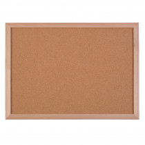 FLP17102 - Wood Framed Cork Board 18X24 Framed in Cork Boards