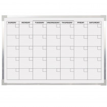 FLP17303 - Aluminum Magnetic Calendar Bd 24X36 in Calendars