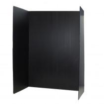 Premium Corrugated Plastic Project Board Black, 36 x 48, Pack of 10 - FLP3007210 | Flipside | Presentation Boards