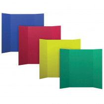 FLP3007324 - Assorted Colors 24Pk 4 Colors Project Boards in Presentation Boards