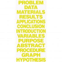 FLP50810 - Project Board Titles Yellow in Presentation Boards