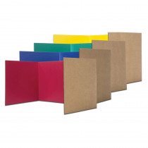 FLP61849 - Privacy Shield Assorted Colors 24Ct in Wall Screens