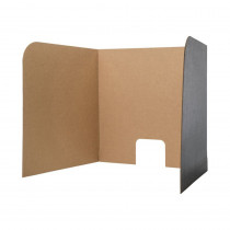FLP61857 - Computer Lab Privacy Screen Sm 12Pk 22X20x20 in Centers