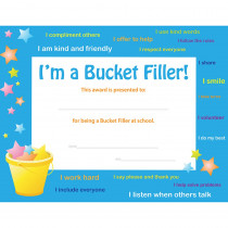 FLPUS201 - Bucket Filler Award 30 Pk in Certificates