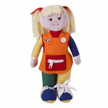 FPH856 - Learn To Dress Doll White Girl in Dolls