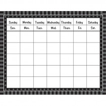 FST4800 - Black Sassy Solids Calendar in Calendars