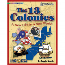 GAL9780635075079 - American Milestones The 13 Colonies in History