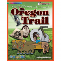 GAL9780635075086 - American Milestones The Oregon Trail in History
