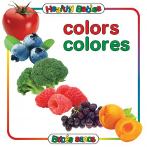 GAR9780983722243 - Colors Board Book Bilingual Spanish English in Books