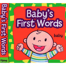GAR9781607459132 - Babys First Words Cloth Book in Language Arts