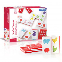 GD-5055 - Jumbo Texture Dominoes in Games