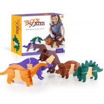 GD-7602 - Block Mates Dinosaurs in Animals
