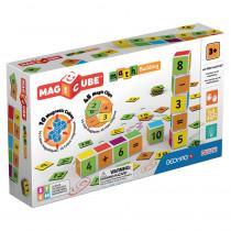 Magicube Math Building Set, 55 Pieces - GMW082 | Geomagworld Usa Inc | Math