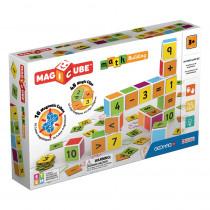 Magicube Math Building Set, 61 Pieces - GMW083 | Geomagworld Usa Inc | Math