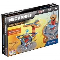 Geomag Mechanics Magnetic Motion Set, 86 pieces - GMW761 | Geomagworld Usa Inc | Magnetism