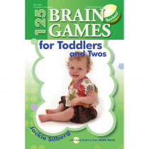 GR-13534 - 125 Brain Games For Toddlers & Twos in Resources