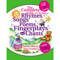 GR-18492 - The Complete Book Of Rhymes Songs Poems Fingerpla in Activity/resource Books