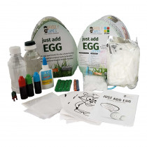 Just Add Egg - Organic Science & Art Kit - GRG4000600 | Griddly Games | Experiments