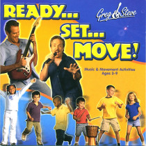 GS-019CD - Greg & Steve Ready Set Move Cd in Cds
