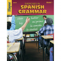 H-HS701R - Exercises In Spanish Grammar Book 1 in Language Arts