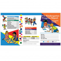 H-PRC12 - Pre Kindergarten Progress Report 10 Pk For 4 & 5 Year Olds in Progress Notices