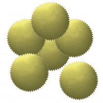 H-VA313 - Stickers Gold Blank 50Pk 2 Diameter in Awards
