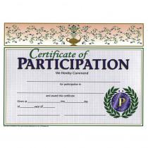 H-VA533 - Certificates Of Participation 30/Pk 8.5 X 11 in Certificates