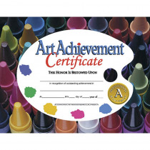 H-VA570 - Certificates Art Achievement 30/Pk 8.5 X 11 in Art
